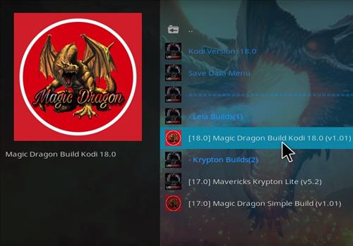 How to Install Magic Dragon Kodi 18 Leia Build step 22