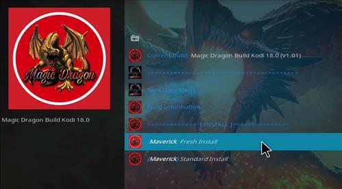 How to Install Magic Dragon Kodi 18 Leia Build step 23