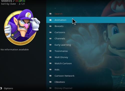 How to Install Mario Kodi 18 Leia Add-on pic 2