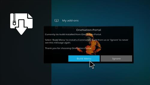 How to Install Meganation Kodi Build 18 Leia step 16