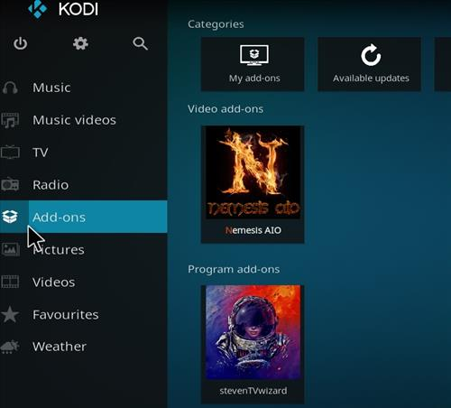 How to Install Nemesis AIO Kodi Add-on with Screenshots step 8