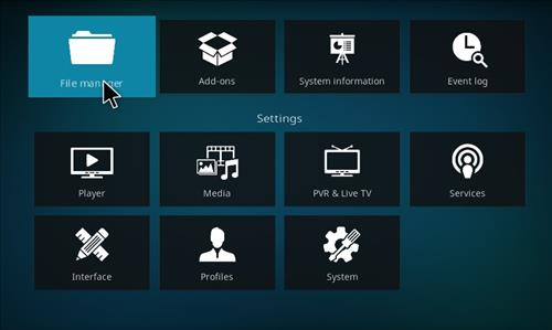 How to Install New Yorker Kodi 18 Leia Build step 2