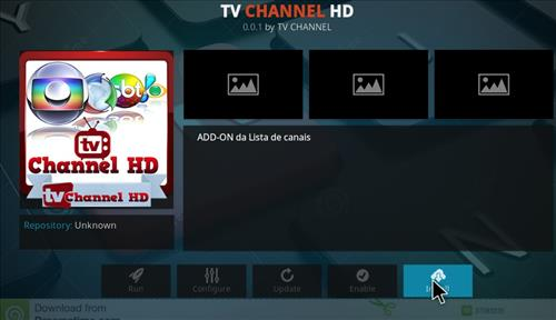 How to Install TV Channel HD Kodi Add-on with Screenshots step 18