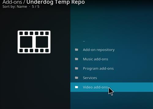 How to Install The Underdog Kodi Add-on with Screenshots step 17