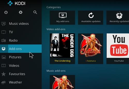 How to Install The Underdog Kodi Add-on with Screenshots step 8