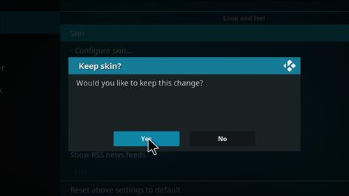 How to change the Skin back to Default Estuary alien theme pic 5