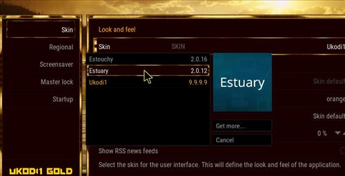 How to change the Skin back to Default Estuary gold step 4