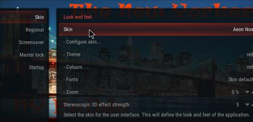 How to change the Skin back to Default Estuary new yorker step 3