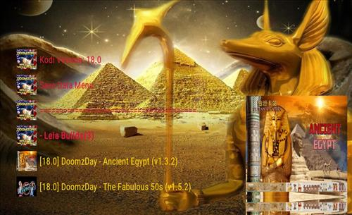 Best Working Kodi 18 Leia Builds 2018 ancient egypt pic 2
