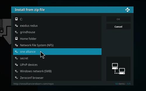 How to Install 1Attraction Kodi Build with Screenshots step 11