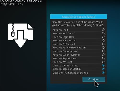 How to Install 1Attraction Kodi Build with Screenshots step 14