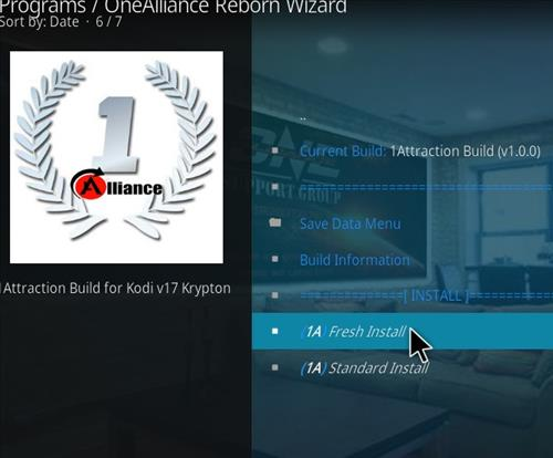 How to Install 1Attraction Kodi Build with Screenshots step 17