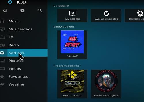 How to Install 80s Stuff Kodi Add-on with Screenshots step 8