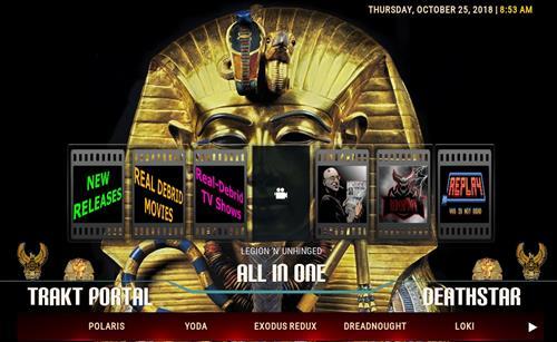 How to Install Ancient Egypt Kodi Build 18 Leia pic 3