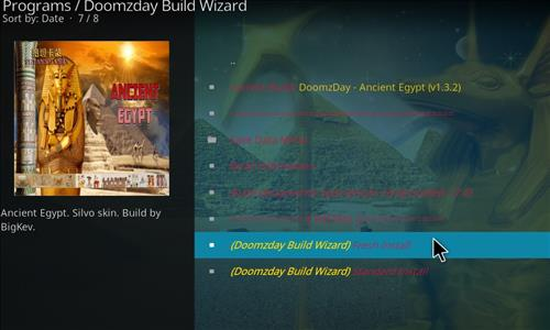 How to Install Ancient Egypt Kodi Build 18 Leia step 18