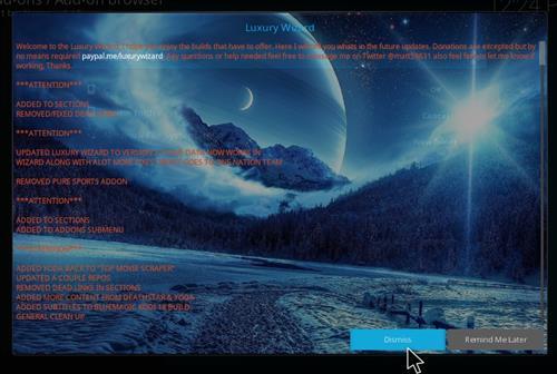 How to Install Blue Magic Kodi Build 18 Leia step 13