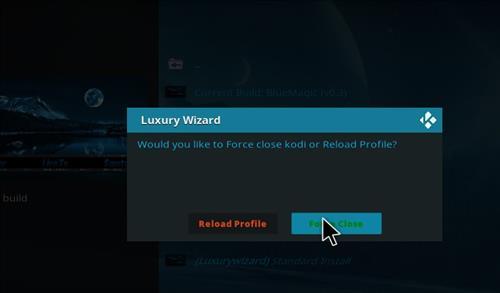 How to Install Blue Magic Kodi Build 18 Leia step 21