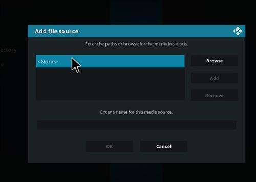 How to Install Blue Magic Kodi Build 18 Leia step 4
