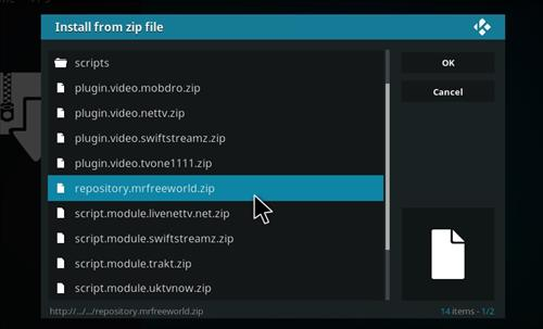 How to Install Channels Kodi Add-on with Screenshots step 12