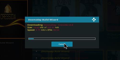 How to Install Cressida Kodi Build with Screenshots step 20