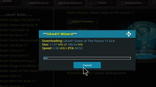 How to Install Dawn of the Future Kodi Build with Screenshots step 27