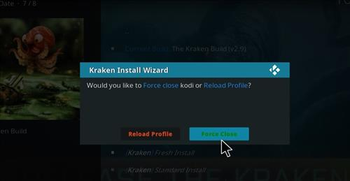 How to Install Kraken Kodi Build with Screenshots step 26