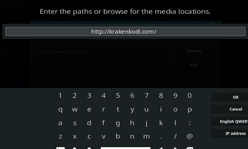 How to Install Kraken Kodi Build with Screenshots step 5