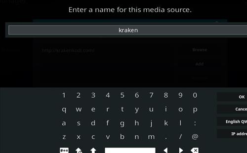 How to Install Kraken Kodi Build with Screenshots step 6