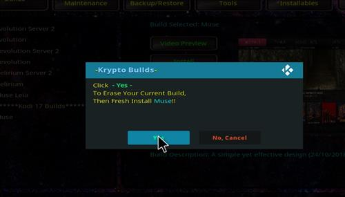 How to Install Krypto Build Wizard with Screenshots step 19