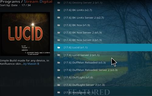How to Install Lucid Kodi Build with Screenshots step 17