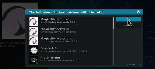 How to Install Magicality Kodi Add-on 18 Leia step 19