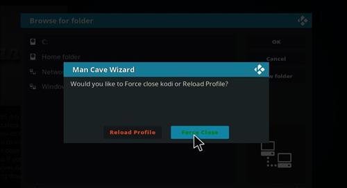 How to Install Man Cave X Kodi 18 Leia Build step 28