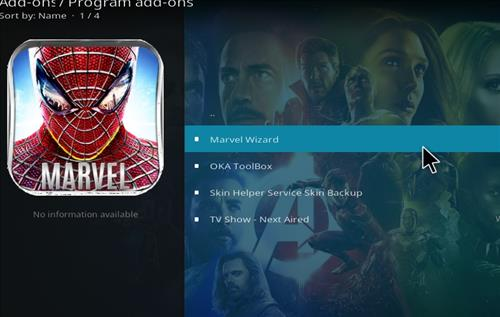 How to Install Marvel Kodi Build with Screenshots step 17