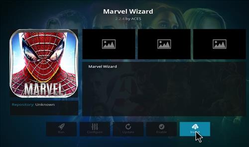 How to Install Marvel Kodi Build with Screenshots step 18