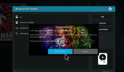 How to Install Marvel Kodi Build with Screenshots step 22