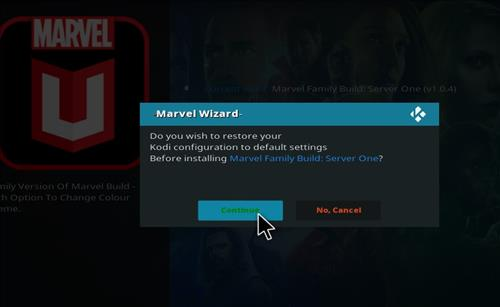 How to Install Marvel Kodi Build with Screenshots step 25