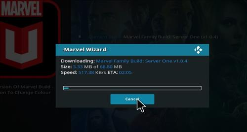 How to Install Marvel Kodi Build with Screenshots step 26