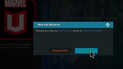 How to Install Marvel Kodi Build with Screenshots step 27