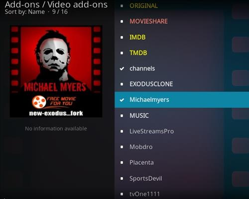 How to Install Michaelmyers Kodi Add-on with Screenshots step 17