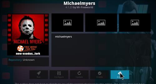 How to Install Michaelmyers Kodi Add-on with Screenshots step 18