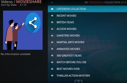 How to Install Movieshare Kodi Add-on with Screenshots pic 2