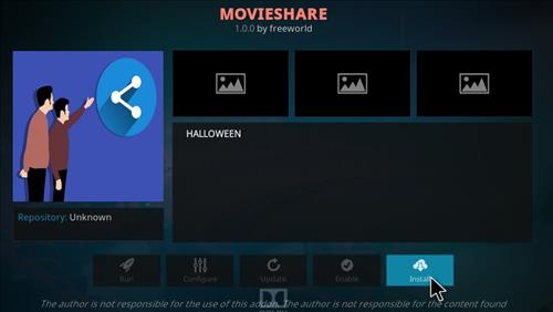 How to Install Movieshare Kodi Add-on with Screenshots step 18
