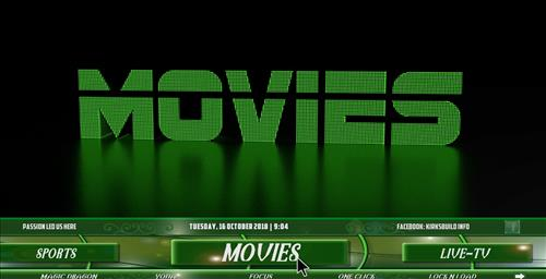 How to Install Neon Green Mini Kodi Build with Screenshots pic 1