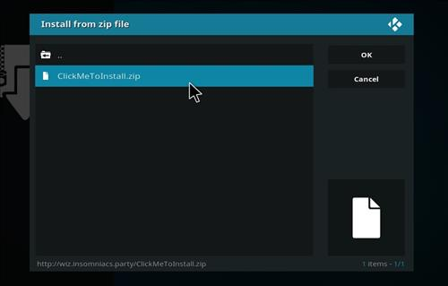 How to Install Neon Green Mini Kodi Build with Screenshots step 12