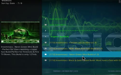 How to Install Neon Green Mini Kodi Build with Screenshots step 17