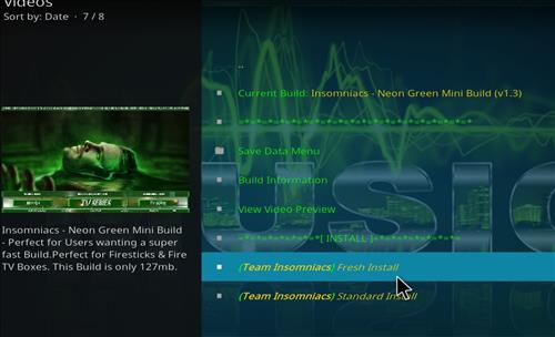 How to Install Neon Green Mini Kodi Build with Screenshots step 18