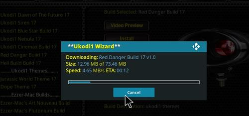 How to Install Red Danger Kodi Build with Screenshots step 26