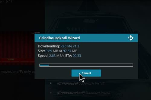 How to Install Red Lite Kodi Build with Screenshots step 25