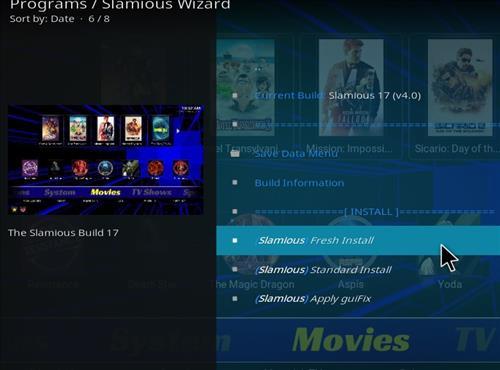 How to Install Slamious Kodi Build with Screenshots step 18