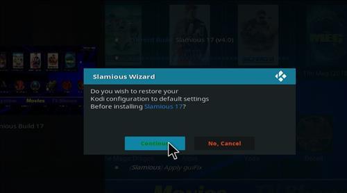 How to Install Slamious Kodi Build with Screenshots step 19